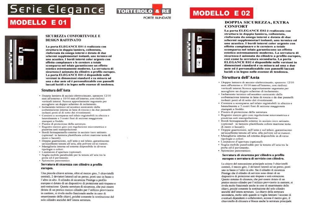 SERIE ELEGANCE  E01  E02
